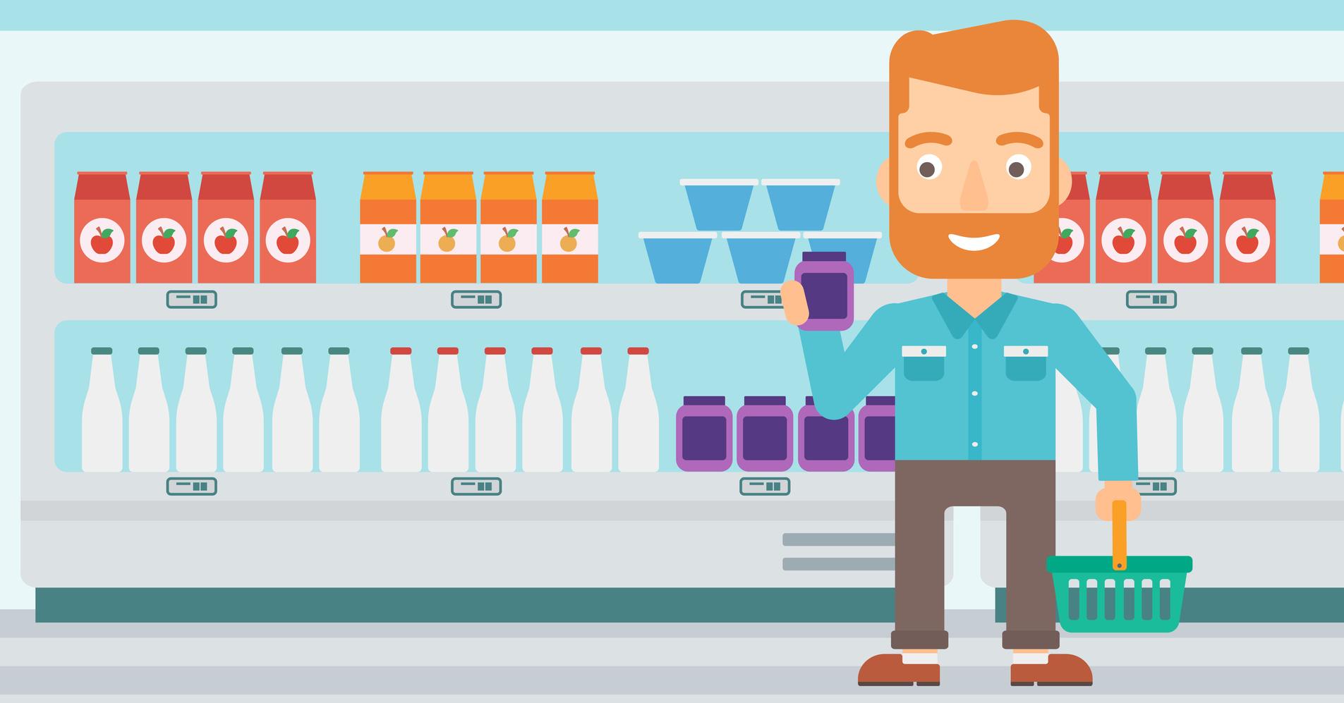 Verpackungen wetteifern um die Aufmerksamkeint der Kunden: Der Trend geht daher zu puristischen Erklärungen und eindeutigen Aussagen über Inhaltsstoffe und Produkteigenschaften. (#01)