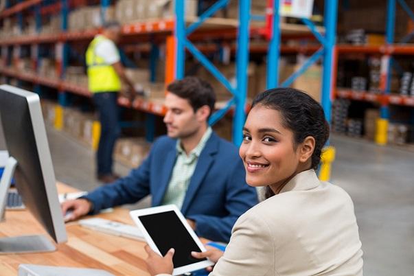 SAP Lagerverwaltung ggf. auch die Fördertechnik direkt geregelt werden.