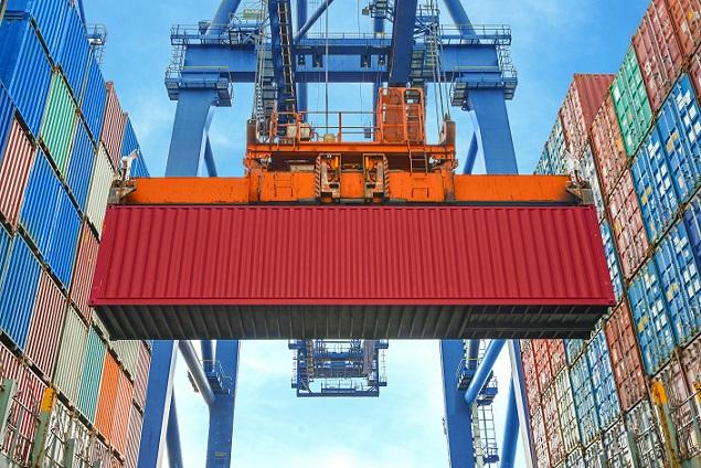 Viele Countainer werden am Hamburger Hafen täglich bewegt