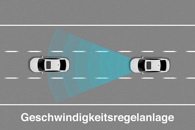 Die Benutzung eines Tempomats spart durch die automatische Steuerung einer gleichbleibenden Geschwindigkeit viel Kraftstoff.