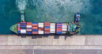 Containerumschlag-Index gibt im April deutlich nach