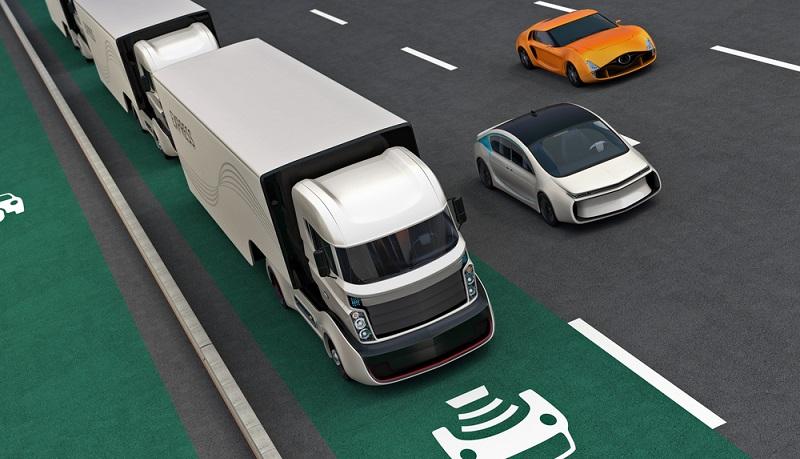 Für Fern-LKWs könnte es in Zukunft Hybrid-Oberleitungen geben.(#02)