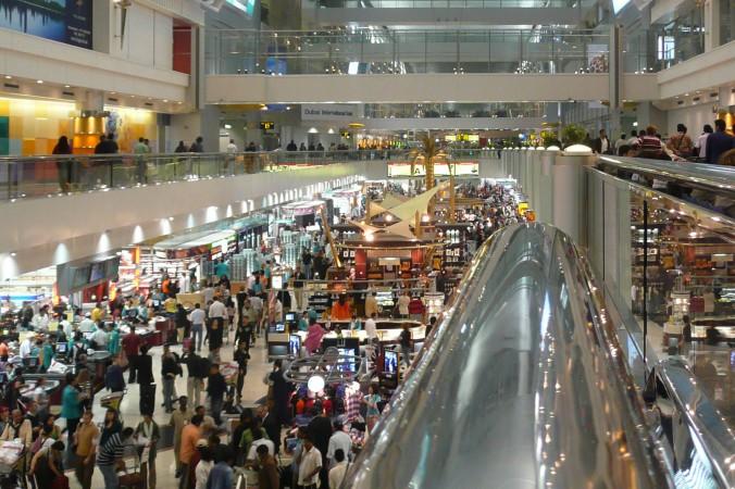 Hochbetrieb in einem der Terminals des Dubai International Airports. (#1)