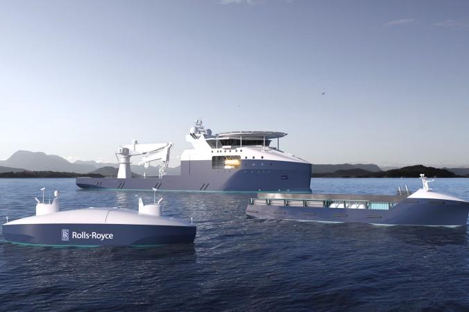Rolls Roys stellst sich vielfältige Aufgaben vor: Autonome Schiffe können auch als Schlepper oder Bohrinsel-Versorger dienen. (#4)