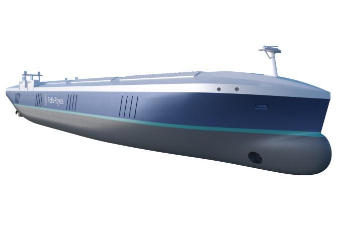 So stellt sich Rolls-Royce den Hochseefrachter der Zukunft vor. (#3)