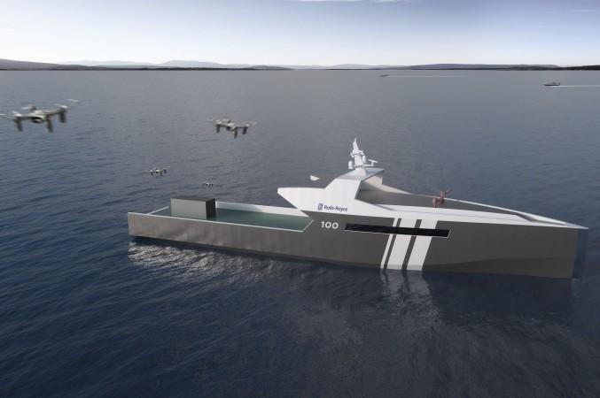 Rolls-Royce sieht einen Markt für autonome Kriegsschiffe, die Aufgaben wie Begleitschutz, Seeüberwachung oder Minensuche übernehmen sollen. (#5)