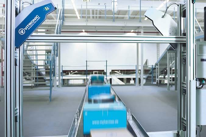 VOLUMEC HD ist schon länger erfolgreich im Einsatz, um die Warenströme der Logistik zu steuern. (#2 Quelle: VITRONIC Dr.-Ing. Stein Bildverarbeitungssysteme GmbH)