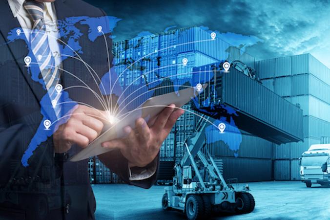 Die immer größer werdende Vernetzung der Geschäftsbereiche im Rahmen der fortschreitenden Digitalisierung gehört zu den großen Herausforderungen der Logistik. (#1)