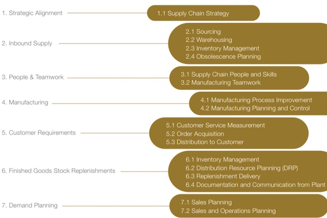 Miebach Consulting setzt verschiedene Schwerpunkte bei der Untersuchung des Reifegrades eines Unternehmens