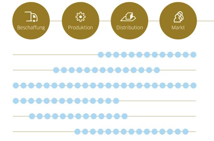 Es geht also bei dem Supply Chain Maturity Profiling nicht um Optimierung um jeden Preis, sondern um die am besten passende Strategie für das jeweilige Unternehmen.