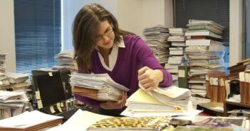 Büroorganisation: Die richtige Einrichtung macht vieles möglich ( Foto: Shutterstock- Albert H. Teich)