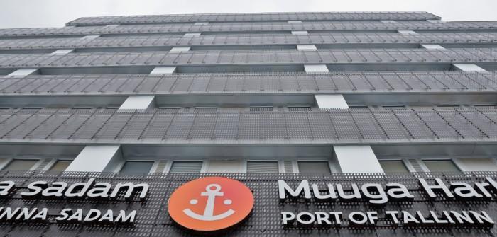 Transiidikeskuse AS: HHLA Marktführer Containerumschlag Hafen Muuga/Tallin