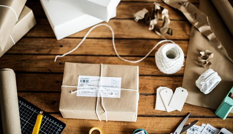 Sorgfältige Verpackungen sind verkaufsfördernd. (#01)