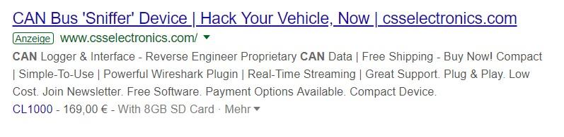 CAN-Bus-Hacking-Tools: der einfache Einstieg für Jedermann.