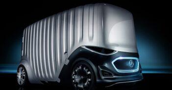 Mercedes Concept Car mit Cargo-Modul: Sieht so der Gütertransport der Zukunft aus?