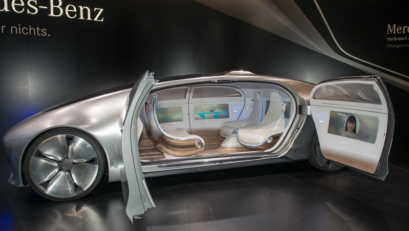 Der Innenraum ist sehr geräumig und komfortabel ausgestattet.