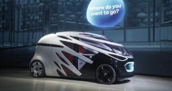 Mercedes Future Car: Futuristische Konzepte für den Personen- und den Gütertransport