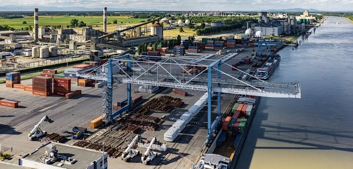 Alsaceterminal: Erhöhte Logistikkapazitäten im Dreiländereck (Foto: Swissterminal Group)