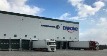 Kühne + Nagel und Danone verlängern die Logistikpartnerschaft in Polen um weitere sieben Jahre (Foto: KUEHNE+NAGEL)